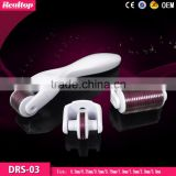 Alibaba china factory direct sale medical grade derma roller 3 in 1 microneedle therapy system ,dermaroller