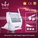 Anti-aging Vaginal HIFU Machine!!! Female Deep Wrinkle Removal Private Parts Care/Facial HIFU Machine 4MHZ