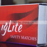 Matchboxes Household Safety Matches