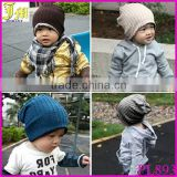 Wholesale Baby Kids Cute Crochet Infant Toddler Beanie Hat Warm Winter Boys Girls Cap Children Accessories