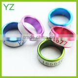 Fashion Aluminium Pigeon Foot Rings Sales