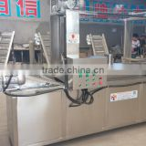 automatic peanuts/soybean frying machine made in china with CE export to brazil, columbia, Dubai, pakistan, jordan