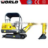 1.8ton 0.05m3 Bucket kid mini excavator with Nachi Hydraulic Pump