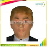 Hot Sale Realistic Human Latex Donald Trump Face Mask