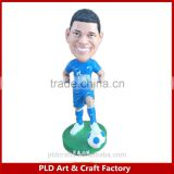 Polyresin Soccer Player Bobblehead/ Sport Bobblehead / Promotional 5inch height bobblehead