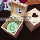 Decorated Solid Pine Wood Box With Lids and Lock High Quality Unfinished Wood Gift Boxes Pine wood Blanket Box Storage Box