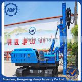 Ground screw machine pile driver , Hydraulic hammer rammering