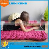 2017 Knitted Wool Blend Blanket Air Conditioning Leisure Chunky Blanket Kniting Blanket