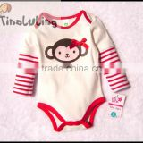 long sleeve baby girls animal bodysuits cutie one piece infant rompers