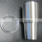 Vacuum Insulated Stainless Steel Tumbler - Double Walled Travel Mug - Sweat Free Coffee Cup