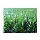 Plastic Football Field Fake Turf , Soccer Artificial Grass 30mm Height