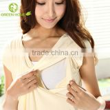 OEM&ODM maternity clothes fashion design nursing t shirt