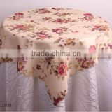 bamboo table cloth for Christmas design