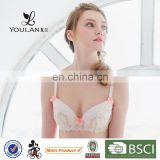 New Products Graceful Hot Girl Flower Lace Kids Padded Bras