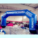 High Quality 10m Blue Advertising Inflatable Arch for Outdoor Event