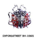 fashion alloy insect brooch in ladybug style