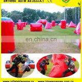 Inflatable paintball obstacle field CS game inflatable paintball bunkers