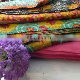lovely home decor gift sari kantha quilt RV49