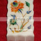 Colorful Marble Inlay Jewellery Box