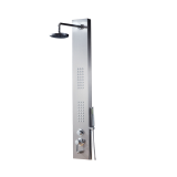 Bathroom Stainless Steel 304 shower panel with shower head and bath tub tapware