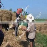 hot sale square baler machine for hay / straw / grass / big square / benzodiazepine with japanese compact tractors