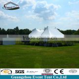 500 people stretch tent with pvc sidewalls and clear windows for outdoor event party, carpa para eventos