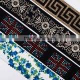 Luxury Wholesale Custom Jacquard Color Elastic Band For Shirt                                                                         Quality Choice