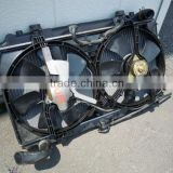 USED VEHICLE PARTS RADIATOR WITH FAN FOR JAPANESE MAKERS (FOR TOYOTA, HONDA, NISSAN, MAZDA, SUZUKI ETC)