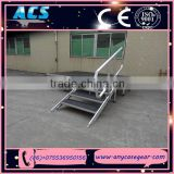 ACS aluminium stage frame, Assemble stage, truss stage with adjustable legs