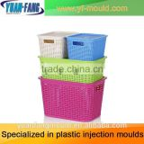 Plastic Turnover Crate Injection Mold Plastic Beer Basket Mould