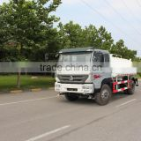 2015 hot sale yellow river 4*2 best price sprinkler truck water tank truck made in china