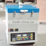YIFAN Crucible type 1400C small melting Laboratory muffle furnace for industry YF-1200CF