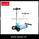 Rastar hot sale kids toy shopping 3 wheel flash scooter balance