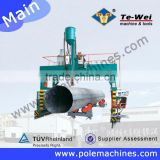 Professional Communication Tower Pole Making Machine