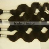 top selling Natural Color Raw Virgin Remy Brazilian Hair Bulk