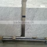 hot sale italian bianco carrara white marble thin tile marble 24x24 tiles