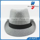 custom made felt fedora hat