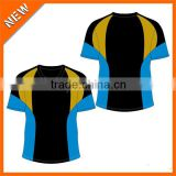 customized China Collar Rugby Jersey, Breathable Rugby Jersey , cool rugby jersey design