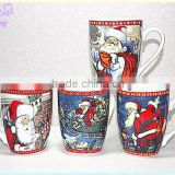 Liling ceramic coffee mug for christmas decoration,christmas gift