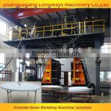 plastic round table making equipment / blow moulding machine