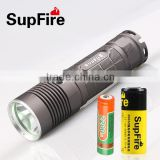 2014 New Model L5 Using 26650 lithium battery led torch lighter