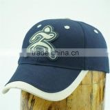 wholesales 6 panels sports hats with pvc badge
