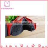 Dog glove massage/dog grooming glove