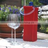 Chinese drinking wine glass cover with plastic handle