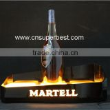Customized LED acrylic wine display acrylic led bottle display stand                                                                         Quality Choice