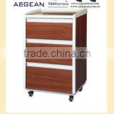 AG-BC004 3-Drawer wooden bedside hospital night stand