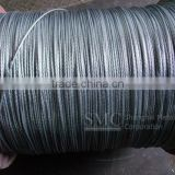 Stay wire, High tensile Galvanized steel cable for stay wire, High Carbon Steel Earth Wire