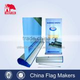 custom design printing aluminum rollup banner stand, roll up display