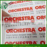 Custom new design printed logo sticker, printing paper adhesive brand label for products