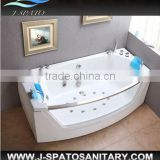 New fashion massage jets glass bathtub